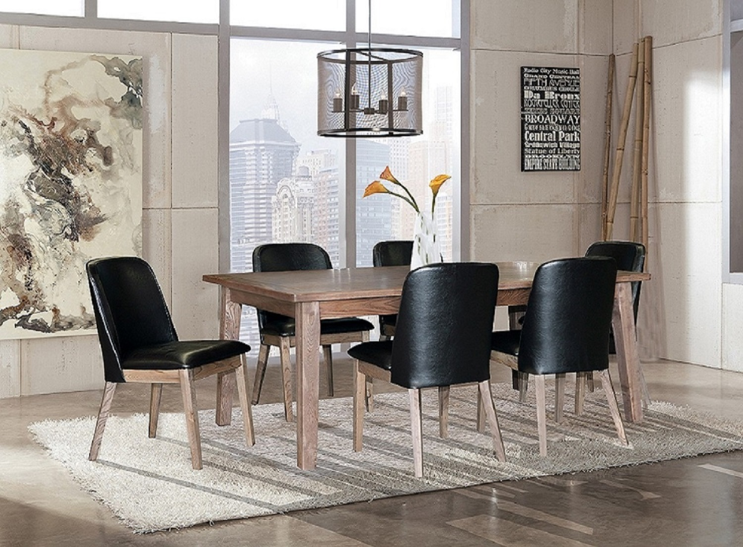 Ascension Dining with Upholstered Chair